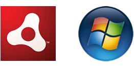 Adobe AIR, Microsoft Windows